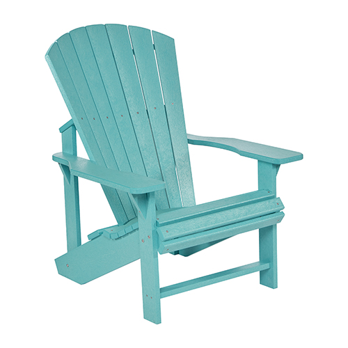 turquoise patio chairs high chair harness blue outdoor and furniture free shipping bellacor generation adirondack
