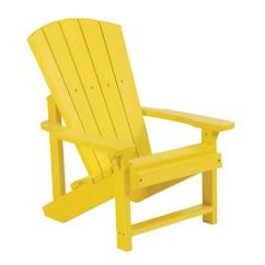 Childrens Adirondack Chair Plastic Venus Revolving C R Products Generations Kids Yellow C08 Bellacor Item 1808938 Image
