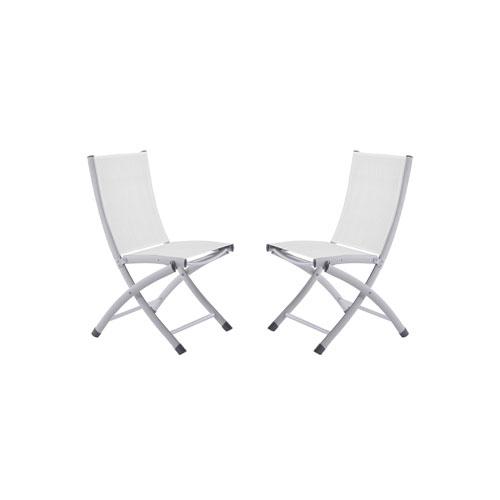 hawthorne oversized sling chairs netting chair covers for wedding white curved back bellacor vivere bachelor aluminum folding