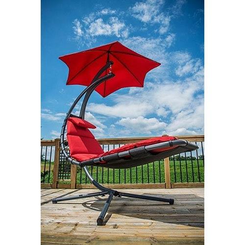 outdoor dream chair ikea sleeper vivere the original cherry red cr bellacor