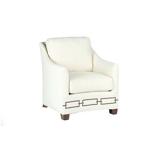 hawthorne oversized sling chairs eezy revolving chair white curved back bellacor gabby home baldwin cream