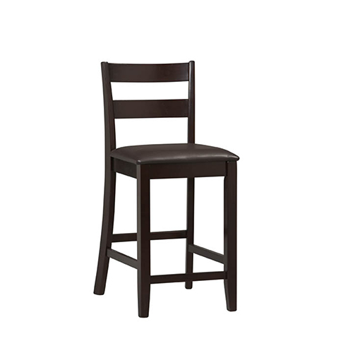 24 inch counter chairs camping with shade stools bellacor brighton hill triena espresso stool