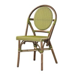 Paris Bistro Chairs Outdoor Flat Folding High Chair Padma S Plantation Green Pba12 Grn 2 Bellacor