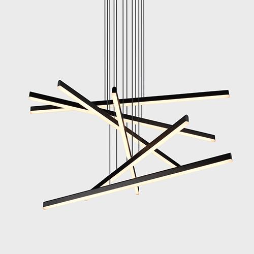 linear pendant lighting modern