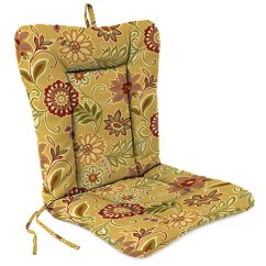 Wrought Iron Chair Cushions Ice Cream Chairs Jordan Manufacturing Company Alinea Spice Cushion
