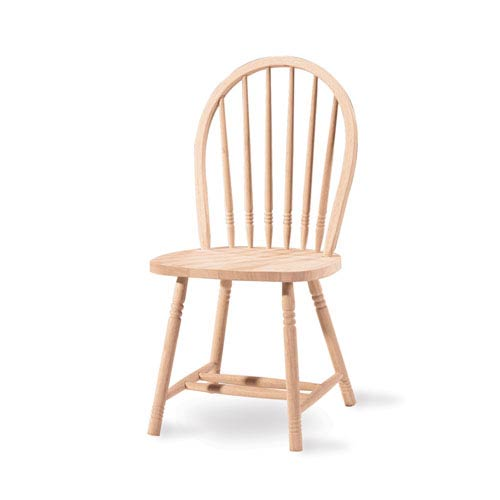 unfinished wooden chairs cheap loveseat dining chair international concepts windsor spindleback wood 1c