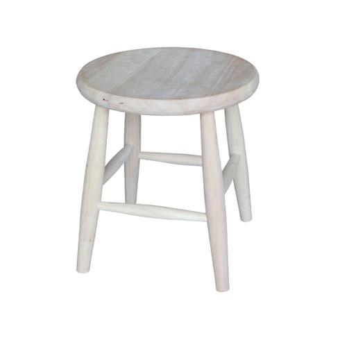 Wood Stool Seat
