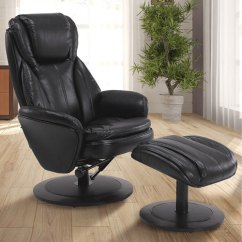 Living Room Chair With Good Lumbar Support L Shaped Sofa For Small Back Bellacor Mac Motion Chairs Comfort Black Breathable Swivel Recliner Ottoman