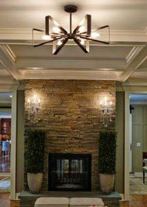 ceiling lights for living rooms decorating ideas room 2016 lighting pendants chandeliers fans bellacor raglan bronze and gold 27 inch six light chandelier