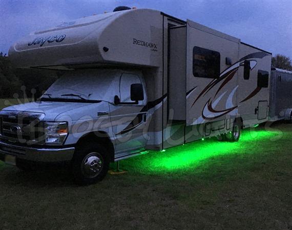 rv multi color led under glow light kit