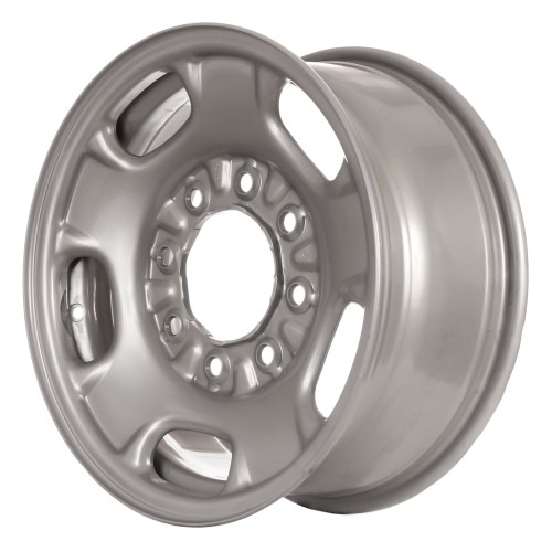 small resolution of 17 2011 2013 chevy silverado 2500 3500 steel wheel flat grey painted 8095