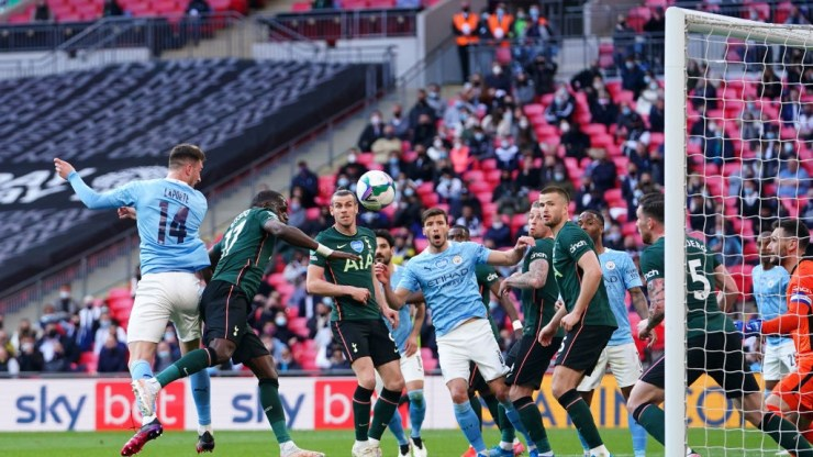 City beat Spurs to win fourth consecutive Carabao Cup