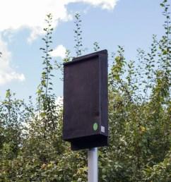 pole mounted maternity bat box  [ 960 x 960 Pixel ]