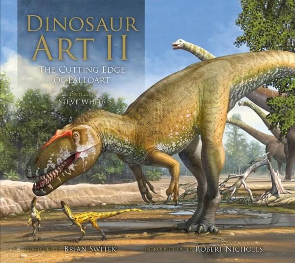 Steve White Dinosaur Art Book