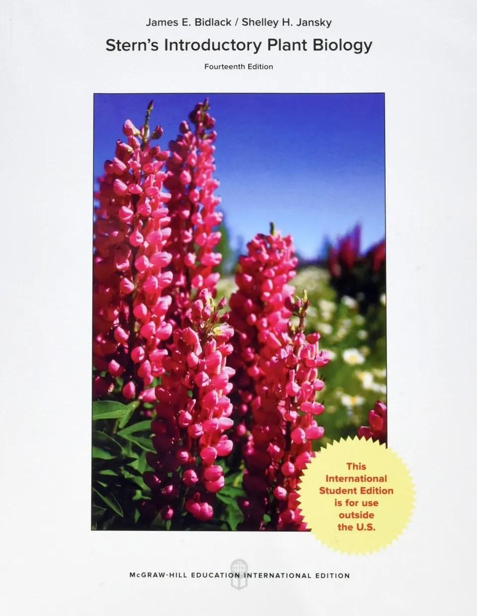 Introductory Plant Biology International Edition James E Bidlack