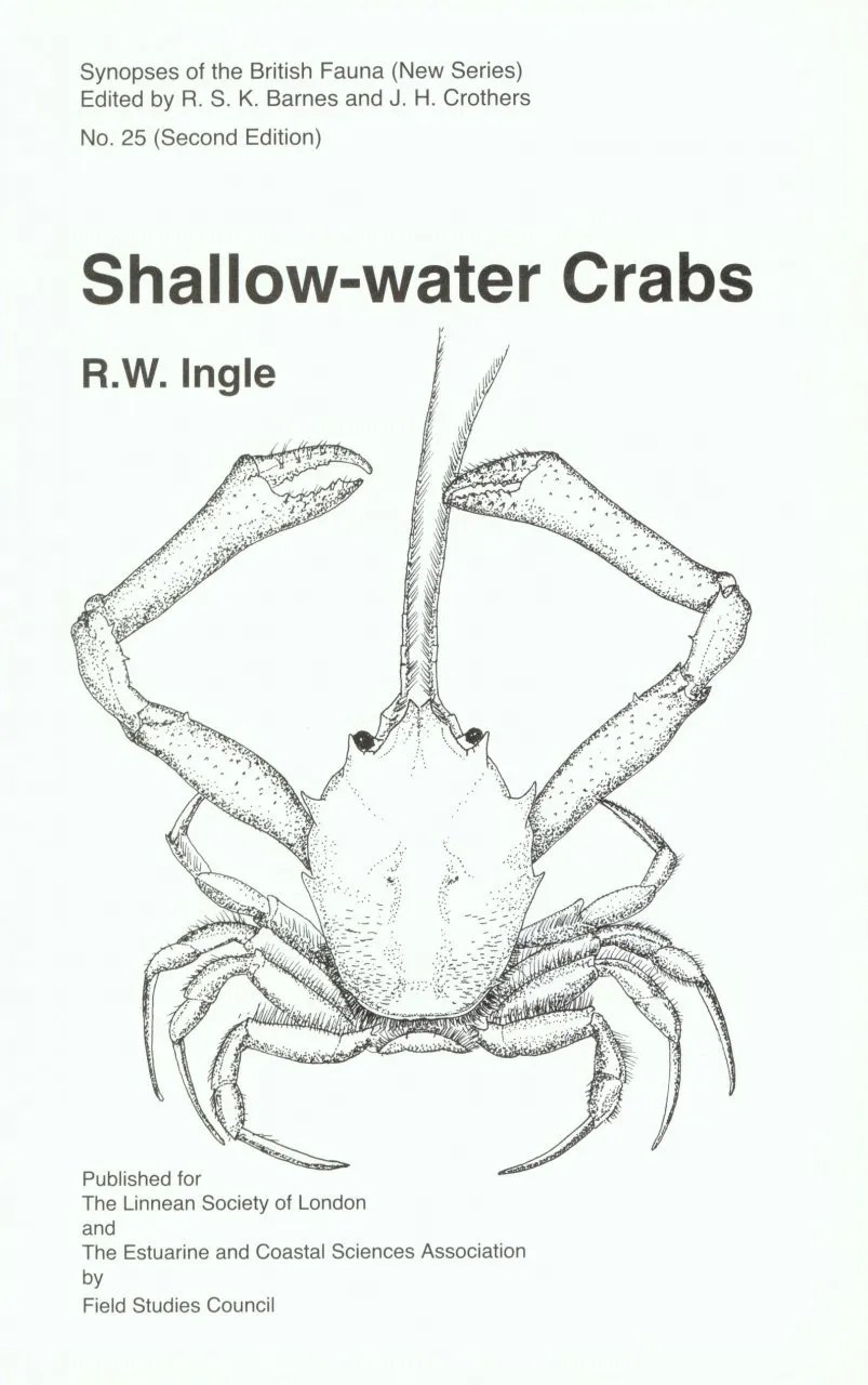 SBF Volume 25: Shallow-Water Crabs: Keys and notes for