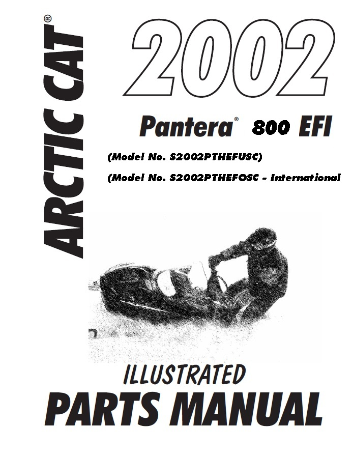 You are here: Home Sleds Digital Manuals 2002 Pantera 2002