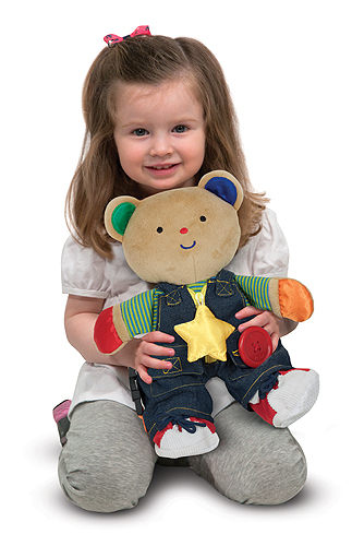 Teddy Wear Toddler Learning Toy 10 20 Melissa And Doug