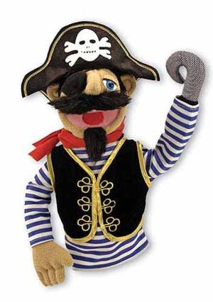 Barnacle Bart pirate puppet from Melissa & Doug