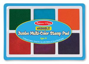 Melissa & Doug Jumbo Multi-Color Stamp Pad