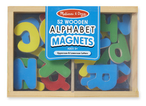 Magnetic Wooden Alphabet Letters