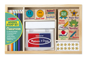Classroom Stamp Set for Kids by Melissa & Doug