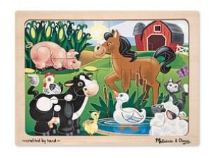 Melissa & Doug Farm Puzzle