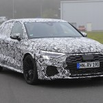 2021 Audi Rs3 Hatchback And Saloon Spotted Testing Carbuyer