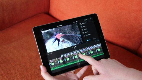 Hand editing on iPad