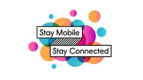 Stay Mobile Stay Connected - Logo