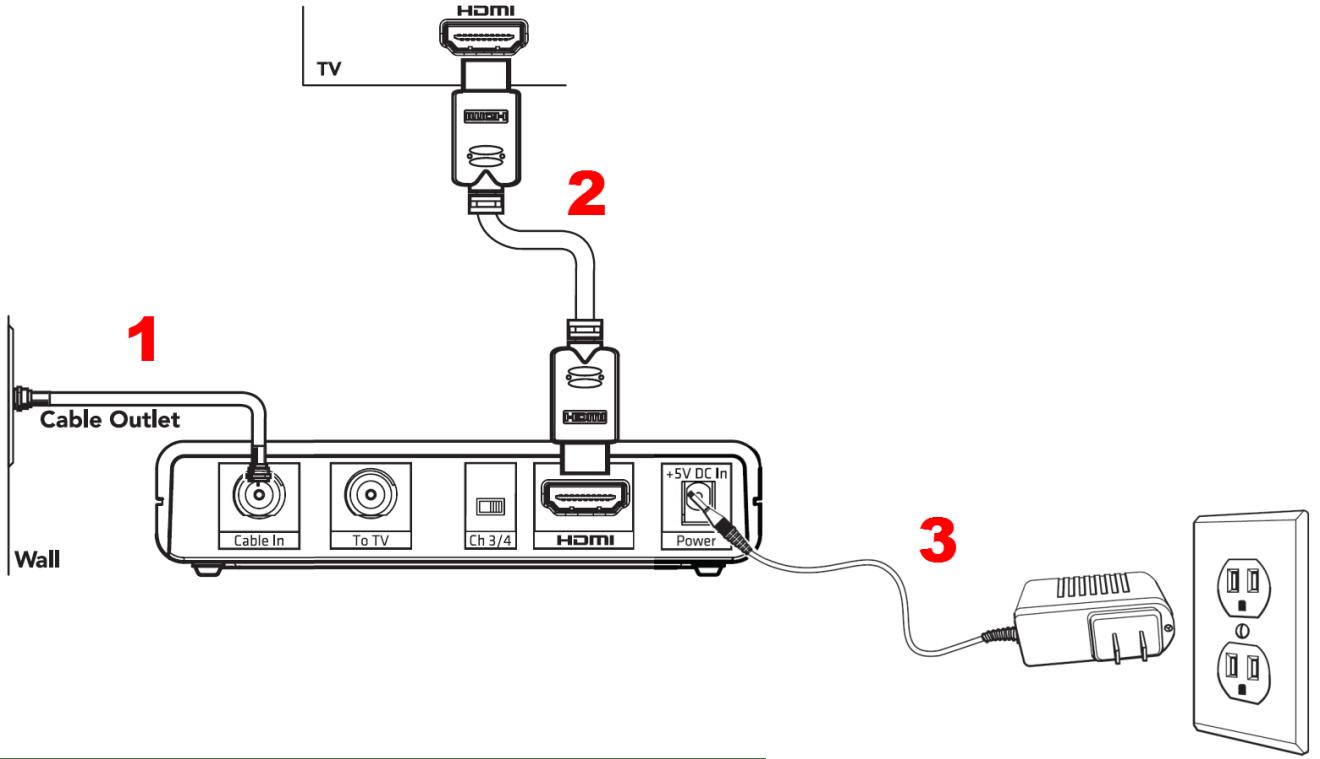 HD Digital Adapter Installation Guide