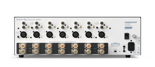 Rückseite - Savoy G4 - Verstärker von Audiocontrol