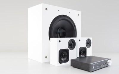Artcoustic CPH-Trio 2.1 Lautsprechersystem – Satelliten, Subwoofer und Verstärker