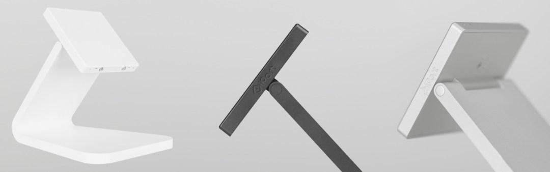 iPORT LUXE - Tischstation (Basestation) in schwarz, silber oder weiß