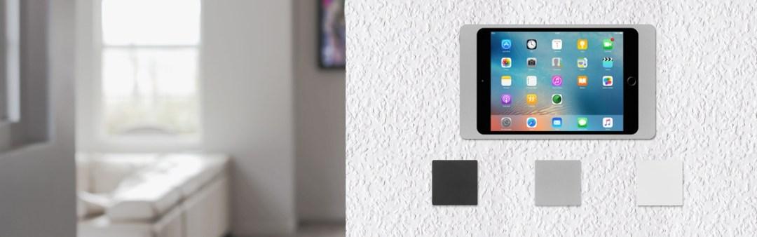 iPORT LUXE - Wandstation (Wallstation) in schwarz, silber oder weiß