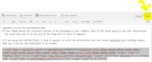 attribution code