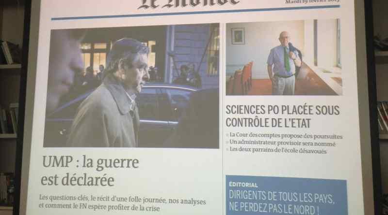Le journal tactile enrichi @Le Monde - mediaculture.fr