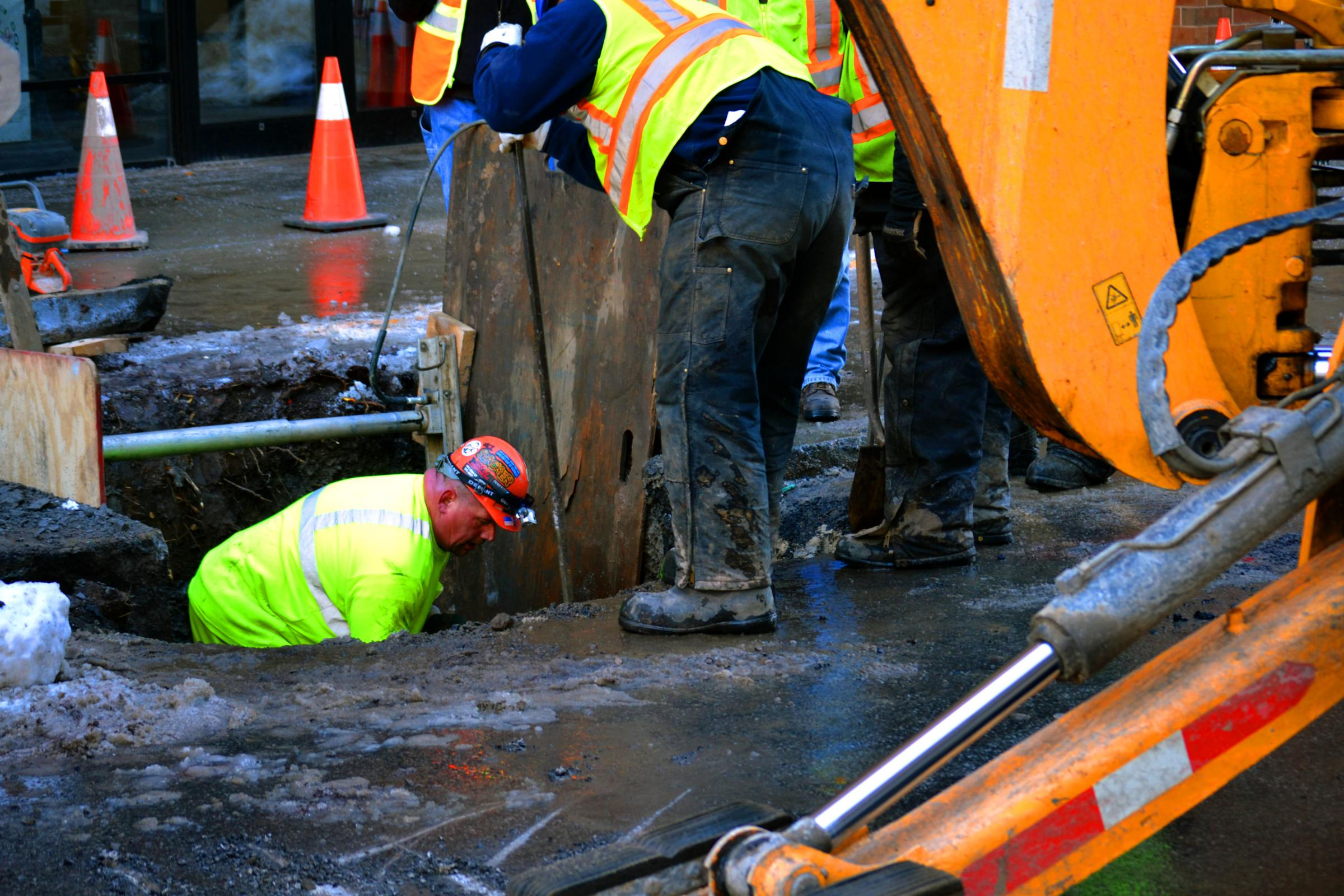 Syracuse patching twice as many water main breaks as