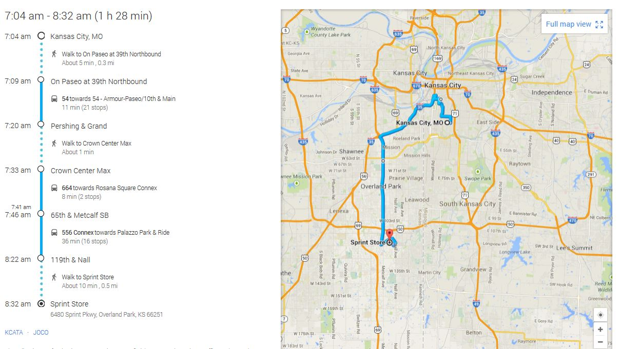 How Long Does It Take To Get To Kansas Citys Major