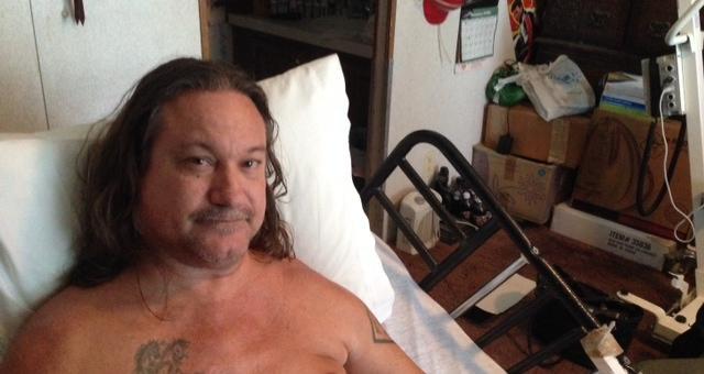 Allen Collins Paralyzed