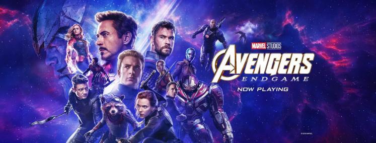 Risultati immagini per avengers endgame banner