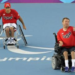 Wheelchair Quad Theater Chairs Home Entertainment Wichita Tennis Player Teammate Win Silver In Rio Kmuw Nick Taylor Right And His Partner David Wagner Won The Medal Doubles