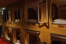 Japanese Sleeping Pod Hotels
