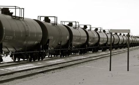 Oil train.