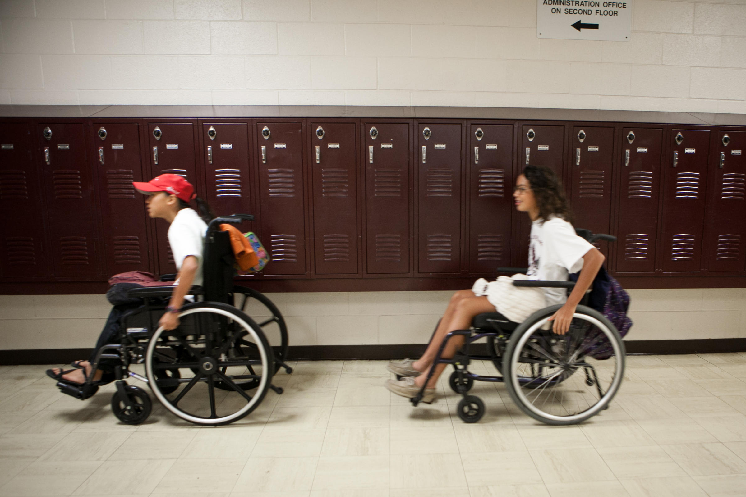wheelchair project denim chair covers austin students spend a day in to raise money