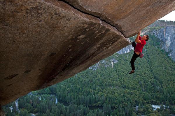 Alex Honnold Free Climbing El Capitan