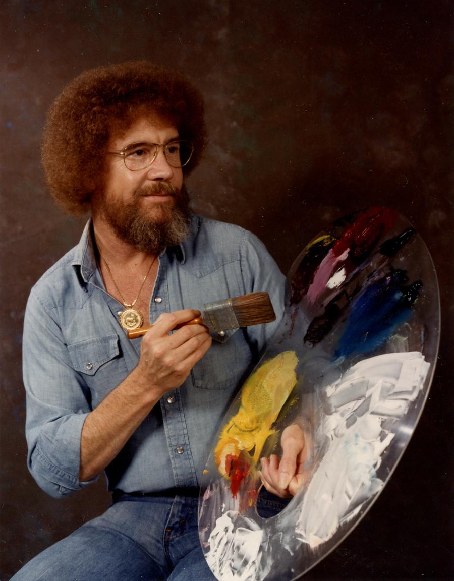 Famous Tv Painter : famous, painter, Ross:, Meticulous, Artist, Behind, Those, Happy, Trees, Maine, Public