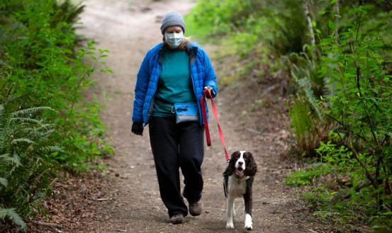 Masks remain extremely effective indoors, but are they needed outside?