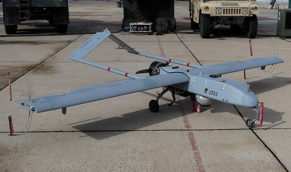 A Grey Shadow drone, the same type of aircraft slated to be housed at a new complex in El Paso's Fort Bliss.