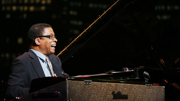 Herbie Hancock, performing during the Thelonious Monk Jazz Trumpet Competition on November 9, 2014 in Los Angeles. The Thelonious Monk Institute of Jazz, which presents these competitions, will change its name to the Herbie Hancock Institute of Jazz.